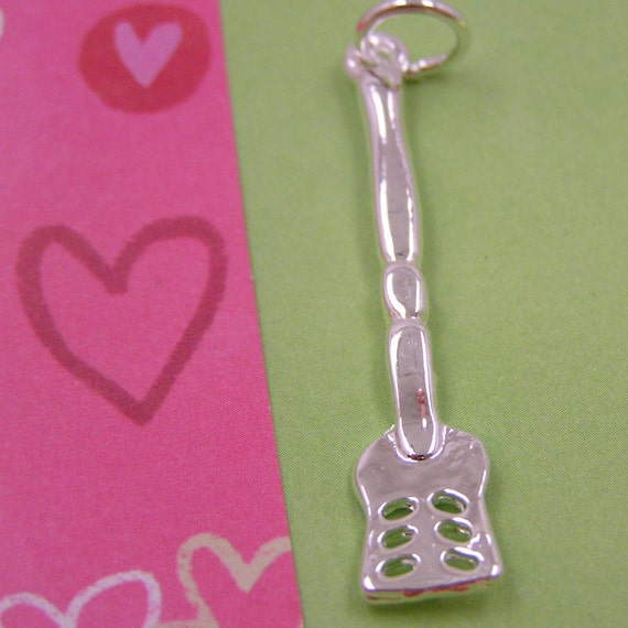 Silver Spatula Cooking Charm