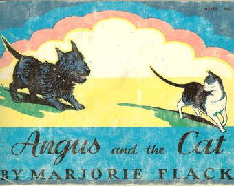 Vintage 1970 Angus and the Cat