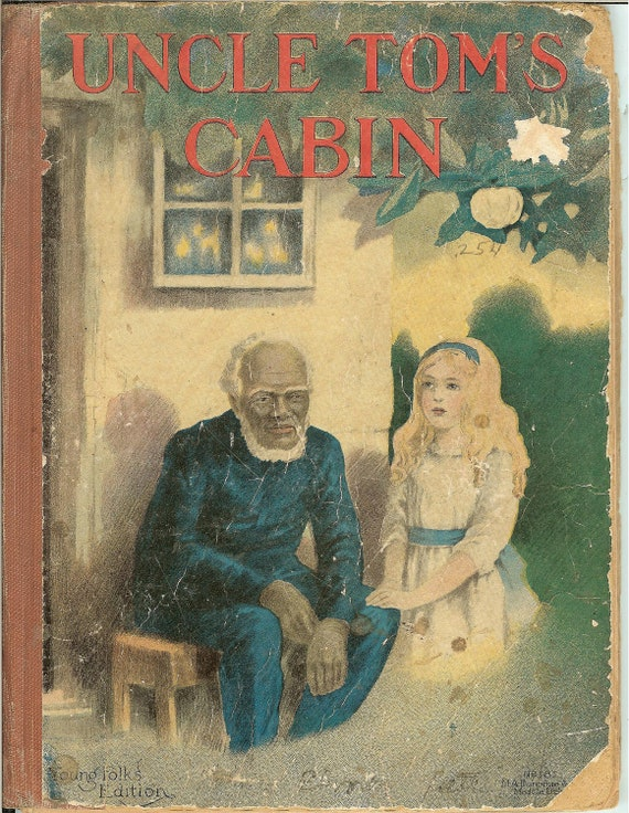 Vintage 1900 39 s uncle tom 39 s cabin childrens by for How much is uncle tom s cabin worth