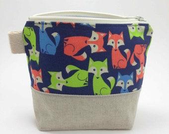 Reusable Snack Bag - Foxes