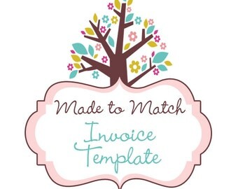 Made To Match -  Invoice Template