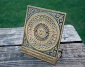 Antique Brass Perpetual Calendar