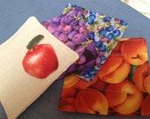Fruit Fabric Coaster Set