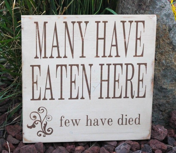 Items Similar To Painted And Distressed Wood Sign