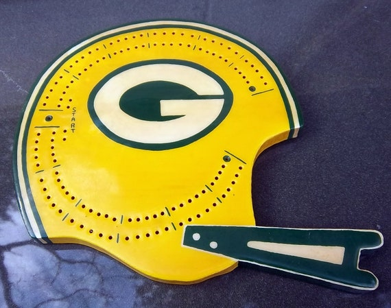 Green BayPackers Cribbage Board