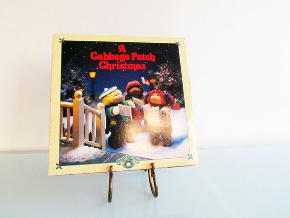 Vintage A Cabbage Patch Christmas Vinyl Record