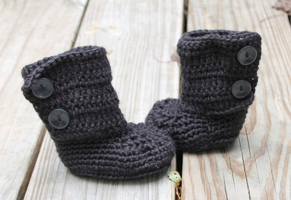 Black Baby Boots