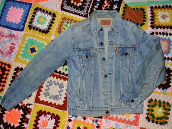 Vintage Levis Denim Jacket, 90's Grunge