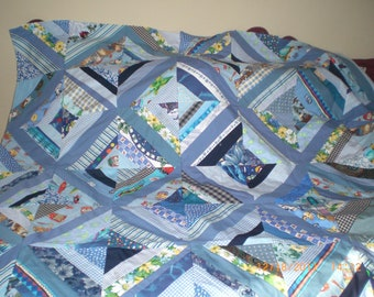 Strip Quilt Top