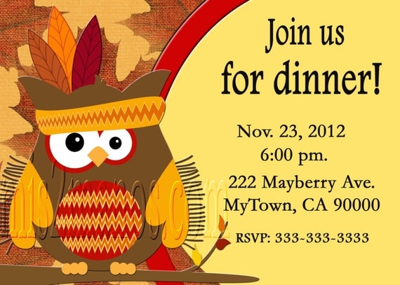 Thanksgiving Potluck Invitations as perfect invitations ideas