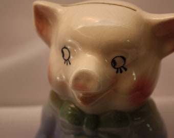 Pinky Bank Royal Copley Porcelain with Pink and Blue Pastels 1950's