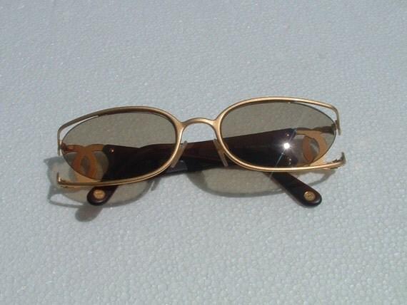 RESERVED CHANEL sun glasses unaware in ITALY circa 1970's