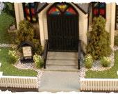 HO Scale Town Church