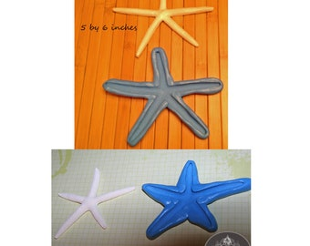 Set of two Starfish Silicone Molds