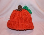 Perfect Pumpkin Hat For Baby