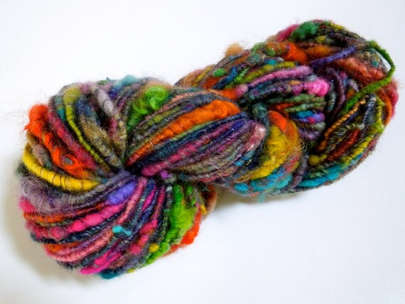 Crayon Stew Handspun Yarn- RESERVED for A.