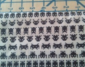 Space Invaders Fabric Geeks Gone Wild