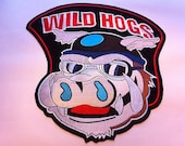 "Wild Hogs 12"" X 12"" Biker patch Irron on or Sew on"