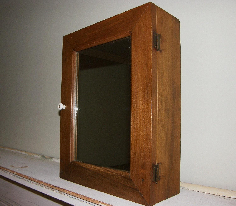 Antique Medicine Cabinet Vintage Medicine Cabinet Wood
