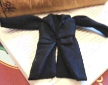 Handmade Miniature Gentleman's Coat 1:12th Scale