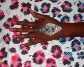 Multiple Color Rhinestone Slave Bracelet