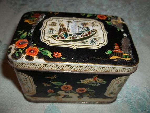 Old Tea Tin made in England
