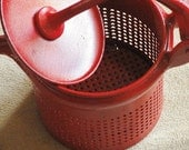Vintage Kitchen Decor RED HOT Potato Ricer