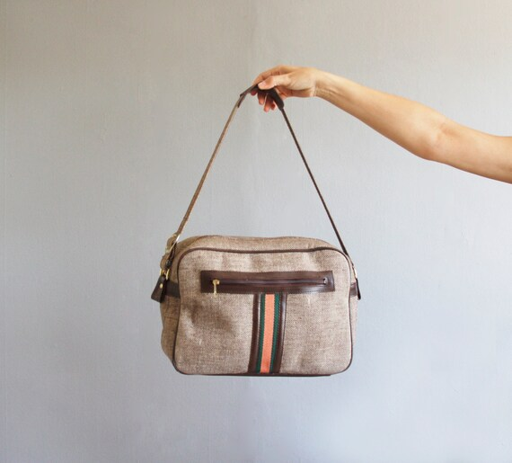 preppy travel bag