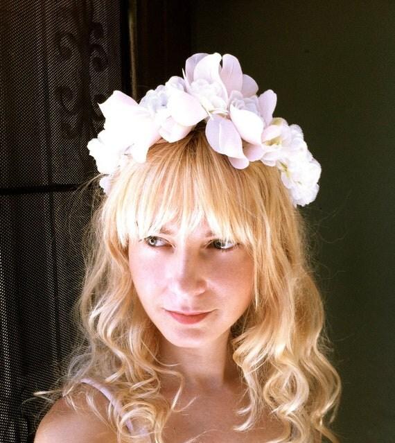 flower wedding headband tiara crown bridal hair accessories head piece spring