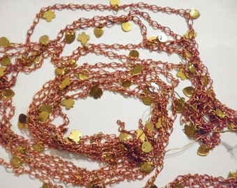 4 ft. Coppercoated Link Chain with Charms