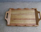 Wooden Tray Server