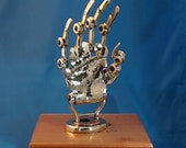 Your Very Own ReMake Kyle Steampunk Brass Golden Prosthetic Hand - New Story Too -