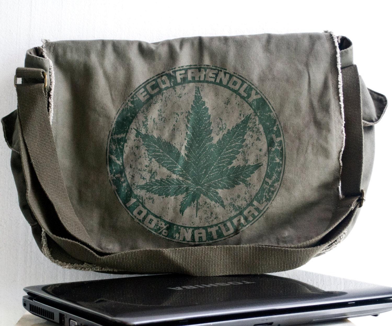 cannabis messenger pot bag marijuana is now in
