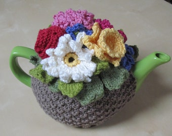 Flower Basket Tea Cosy pattern