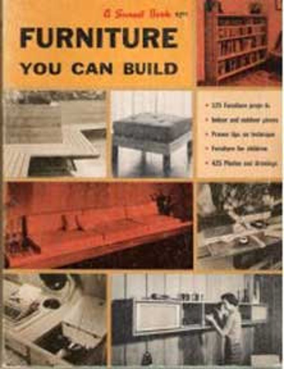 how to build mid century modern furniture