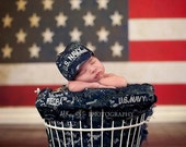 Baby NAVY NWU Infant Military Caps - U.S. Navy Baby Hat- Military baby, Navy Baby