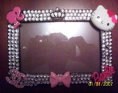 Fun blinged out picture frame