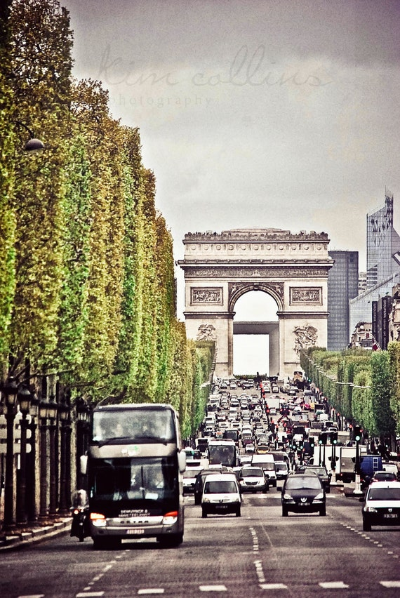 Arc de Triomphe,Fine Art Photography,Paris,France,multiple sizes available-parisian,Arc de Triomphe,architecture,Street,City,vintage feel