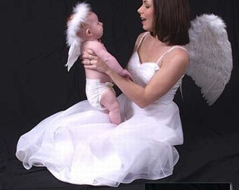 Small Angel Wings Photography Prop