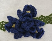 Crocheted Corsage