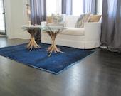 Vintage Overdyed Carpet - Indigo Sapphire
