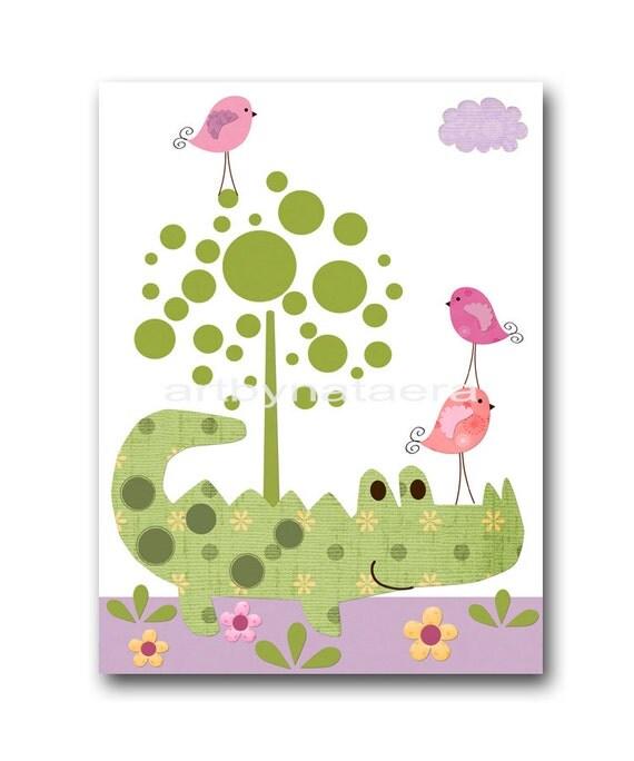 Baby Nursery Decor Art For Children Kids Wall Art Baby Girl