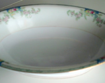 Vintage Grace China Pattern GRA 3 Oval Serving Dish