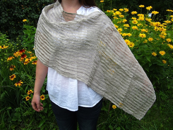 Linen shawl poncho scarf. Four different variants. Wrap linen shawl scarf. Summer linen shawl poncho scarf. Maternity shawl poncho