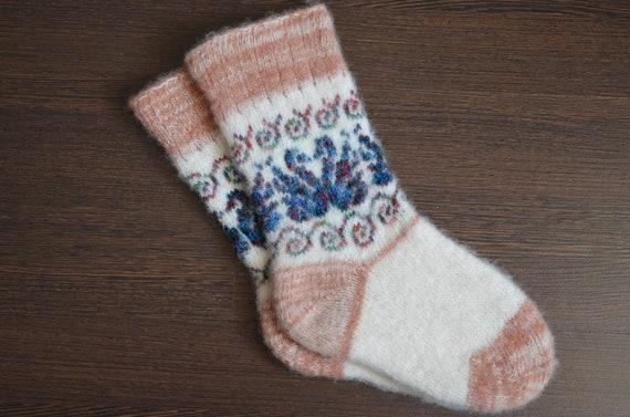 1 pr. Men's/Women's Warm Angora Wool Socks