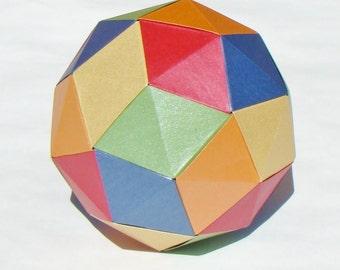 Origami Diagrams - Pentakis Dodecahedron