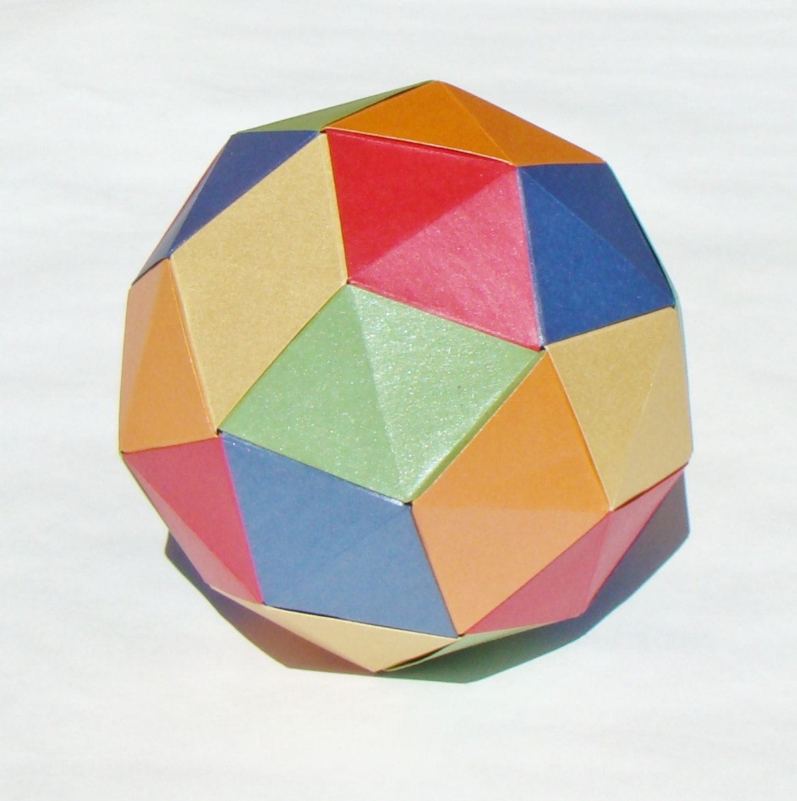 how to make an origami dodecahedron 28 images pictures