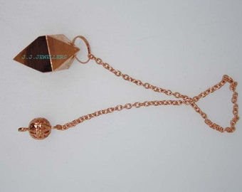 New Healing copper pendulum With copper Pagan ET A1/2