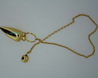 New Healing Brass pendulum With Brass Pagan ET A1/13