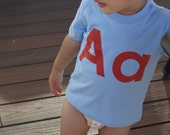 Letter T-shirts for Toddlers: A to Z
